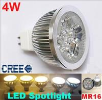 MR16 down light mr16 - AC V W LED Bulb MR16 Down Light CREE W LED spotlight lamp GU10 E27 E14 LED Light