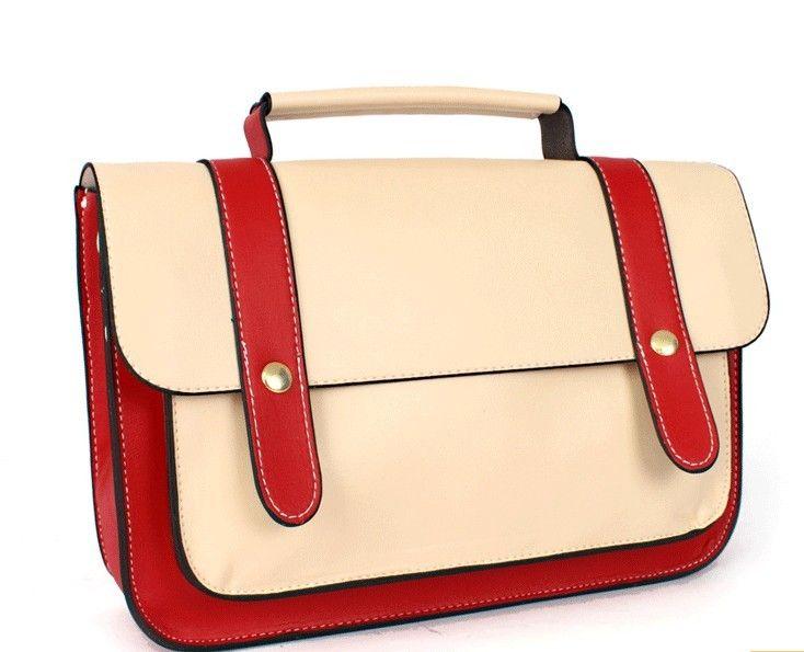 Women's Popular Retro Solid Messenger Bag Cheap Shoulder Bags ...