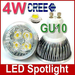 AC85V-265V GU10 4W LED spotlight LED Down Light CREE 4*1W E14 E27 LED Bulb LED Light lamp 4pcs lot