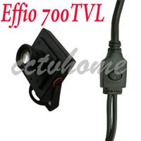 Wholesale Mini mm Board lens Sony Effio E HD TVL Security CCTV Color camera