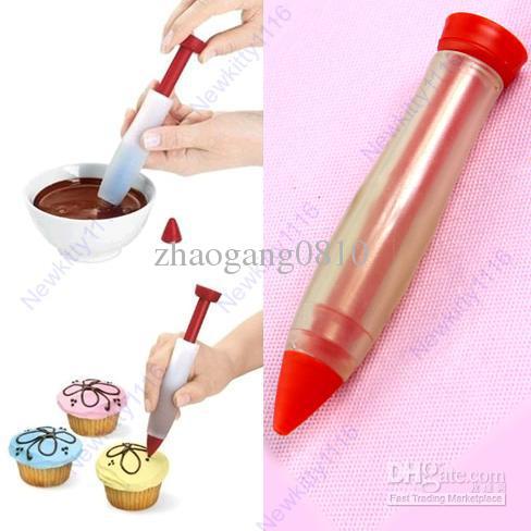 Cake Decorating Writing Gel : Buy Hot Selling! Silicone Food Writing Pen Cake Mold Cream ...