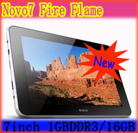 Wholesale 7 inch Ainol Novo Fire Flame GB DDR3 GB Dual Core Dual camera Tablet Pc Capacitive Screen