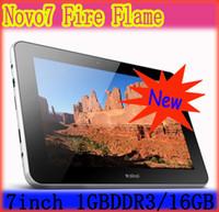 Wholesale 7 inch Ainol Novo Fire Flame GB DDR3 GB Dual Core Dual camera Tablet Pc Capacitive Screen