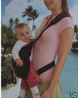 Wholesale Big Discount Dual Purpose Baby Carrier Belt Baby Sling Bjorn Coffee Grey