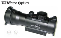 Wholesale TAC Vector Optics x42 Red Green Dot Sight Rifle Scope Times Magnification fit mm Rail