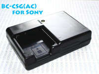 Wholesale BC CSG AC BCCSG CSG Charger For Sony Digital Camera Li ion Battery NP BG1 NP FG1