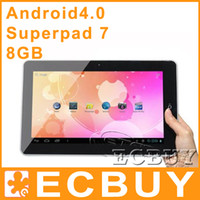 Wholesale 10 quot Flytouch GB GPS A8 Android Tablet PC Allwinner A10 Flytouch Superpad G Ebook