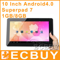 Wholesale Flytouch SuperPAD7 G GPS Android GPS Tablet PC GB GB GB GB
