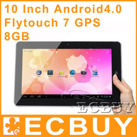 Wholesale Flytouch GPS Cortex A8 quot Allwinner A10 GB Android Tablet PC WiFi G Youtube Skype