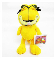 Wholesale quot Garfield Cat baby soft smurfs doll plush cat stuffed animals toys