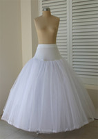Wholesale In Stock Soft Tulle Ball Gown Wedding Petticoats Bridal Crinolines Slip Brand NEW Underskirts