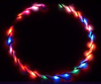 Wholesale 36 quot cm LED Glow Hula Hoop LED colors Performance Hoop Sports Toys Loose Weight