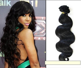 Wholesale 100 Peruvian Virgin Remy Hair Weft Mix length Body Wave inch Human Virgin No dyed