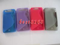 droid razr case - S line TPU soft wave Case For MOTO Motorala Droid Razr Maxx XT910 silicone skin cases COVER