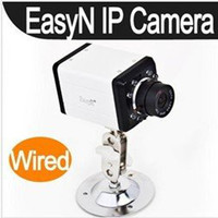Wholesale EasyN Wired IR IP Camera web camera mm lens Indoor Use CMOS pixel cell phone view