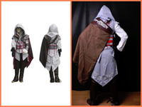 Wholesale Assassin s Creed Ii Ezio Kids cosplay costume