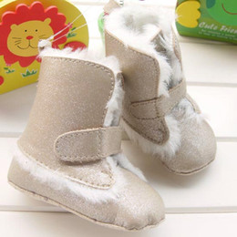 Wholesale 2012 New Fashion Baby Shoes Ultra Warm Baby Girls Boots Infant Suede Boots Snow Boots Toddler Boots