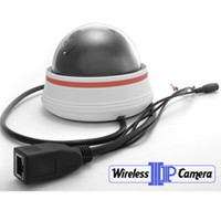 Wholesale Wireless IP Camera with Night Vision and Motion Detection Alarm cn kingtop