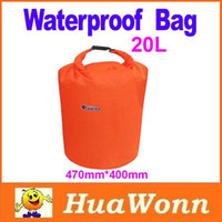 Wholesale High quality L Waterproof Dry Bag for Canoe Kayak Rafting Camping Size S