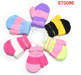Wholesale 3 years old Baby children Gloves Mitten Children s Warm keeping Glove Cartoon cute
