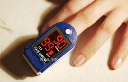 Wholesale LED Digital finger fingertip pulse Oximeter Oxymeter CE and FDA approval