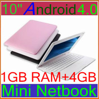 Wholesale best sell inch Laptop Android A10 GHz Cortex A8 GB RAM GB Flash Camera Netbook pc BJB