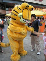 Free Size athletic express - new Garfield Mascot Costume Adult Size Fancy Party Dress by express