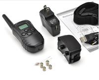 Wholesale Remote Control Dog Training Collar Bark Stop Pet Collar LV Shock Vibra Lcd Display m