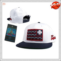 Wholesale Pink Dolphin Snapbacks Olympic Flag Snapback in White Cheap Adjustable Hats Cool Best Strap Back Cap