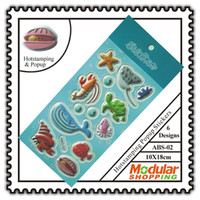 Wholesale Hotstamping Popup Stickers D Decor Fish Kids Room PVC Great CM