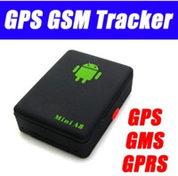 Wholesale Mini A8 Global Real Time Band GPS Tracker GSM MHZ Back Call GSM GPRS LBS GPS SOS