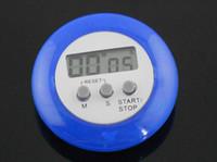 Blue Мини Карманный ЖК кухонный таймер для отсчет Все На складе дешевой цене 48hr диспетчерских 5шт