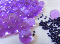 Wholesale Purple Crystal Water Gel Beads for Wedding Party Decor Crystal Soil Pearls Vase Filler Centerpieces
