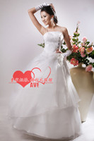 Wholesale A line Lovely Princess Wedding Dress New Arrival Large Szie Bridal gown