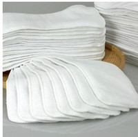 Wholesale 30pcs Inserts for BABY CLOTH DIAPER NAPPY CLOTH NAPPies in baby use cotton