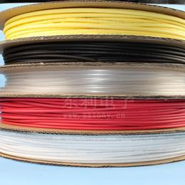 Wholesale 5mm Dia Diameter Heat Shrinkable Tube Shrink Tubing M FT black Color
