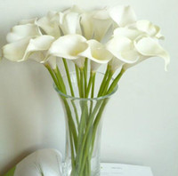 Wholesale WHITE cm Elegant Silicon Artificial Simulation Egyptian Calla Lily Alocasia Plumbea Flower