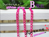 Wholesale 2 MM Multicolour Necklace Chain Chain DIY Jewelry Accessories Alloy Metal Chain Long cm