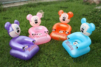 Wholesale Mini Children Casual home furniture Baby Inflatable sofa toys free shiping
