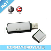 Wholesale High Definition GB USB Flash Disk Driver Micro Voice Recorder Hidden Spy Digital Voice Recorder Pen