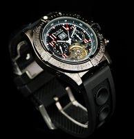 Men's replicas watches - jaragar men luxury automatic watches tourbillon double calendar dive mens mechanical replica classic
