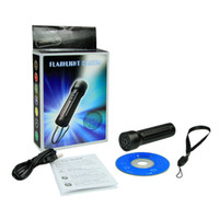 Wholesale 8GB flashlight spy camera