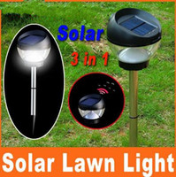 Wholesale New hot Solar Powered Lawn Light Lamp Outdoor Garden Yard Landscape Path Mosquito Killer