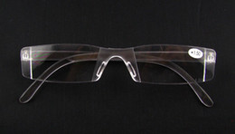 Hot Sale Slim Reading Glasses Plastic Cheap Reading Eyewear White Mix Different Power Lens 20pcs lot