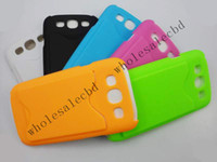 Cheap 100pcs lot Plastic Hard Credit Card Back Cover Case Credit Card Holder for Samsung Galaxy S3 SIII i9