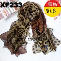 Fashion Scarf Lady Scarves Chiffon Hot Sales Leopard Style 3...