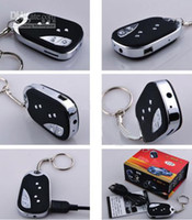 Wholesale Mini HD Remote Camera Car Key Hidden DV DVR Micro Vedio Camera Spy Camera Voice Recorder High Speed GB TF Card
