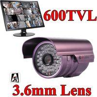 Outdoor CCD  CCTV D N Outdoor 600TVL CCD security Camera High Resolution Serveillance system