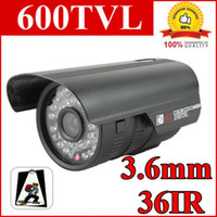 Outdoor CCD  CCTV 600TVL High Resolution CCD 36IR Outdoor Security Camera Surveillance system