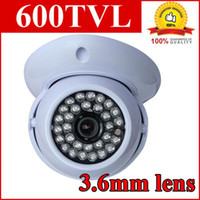 Wholesale CCTV TVL IR Dome Security Camera Indoor CCD Camera Surveillance System H636